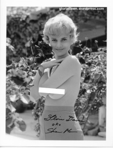 Gloria Dawn by Ron Vogel, a photo taken in Feb 1962. A version of this photo was published in Tab, 1966.