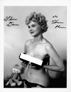 A photo by Ron Vogel originally published in Sassy, and later copied from Sassy to a full-page picture in The History of Men's Magazines, Vol. 4.
