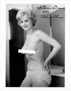Gloria Dawn photographed by Ron Vogel.  This photo was never published.