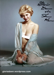 Gloria Dawn by Ron Vogel.  An unpublished color photo.  I own the transparency for this one.