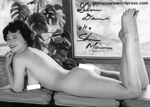 Gloria Dawn by Michael LeRoy.  A version of this photo was published in Monsieur, 1964.