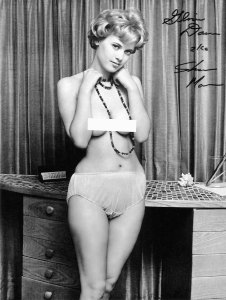 Gloria Dawn by Ron Vogel.  This photo was taken in April/May 1962.