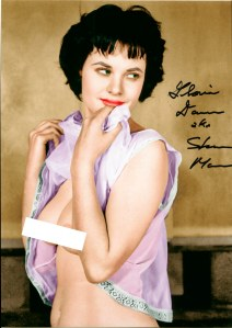 Gloria Dawn by Michael LeRoy. Originally a B&W photograph, it has been colorized by Old Iz New.